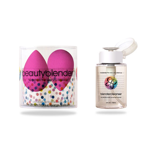beauty blender 2 and cleanser