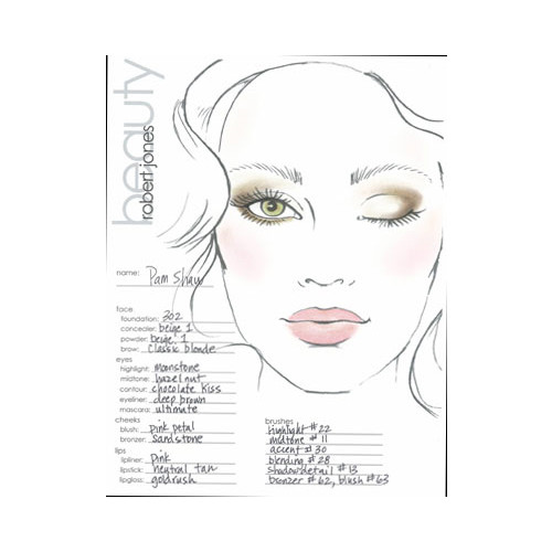 Mac makeup drawing